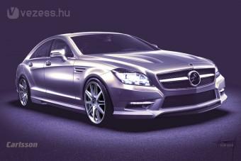 Bemutatás előtt átalakul a Mercedes CLS