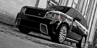 Dízel fenevad Range Roverből