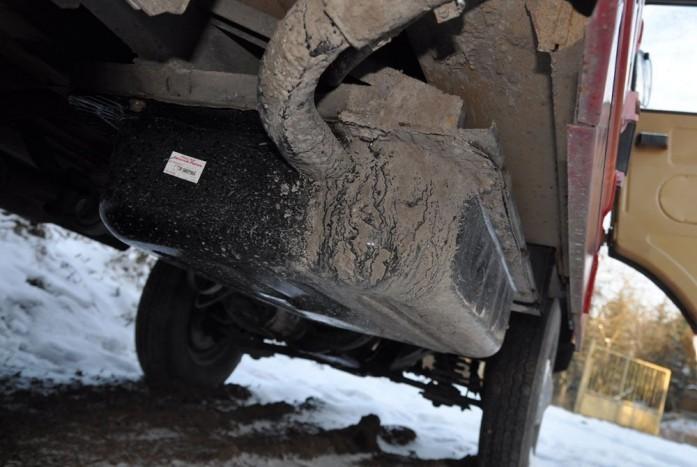 A fém tank még benzines üzemben lyukadt ki, most vadonatúj