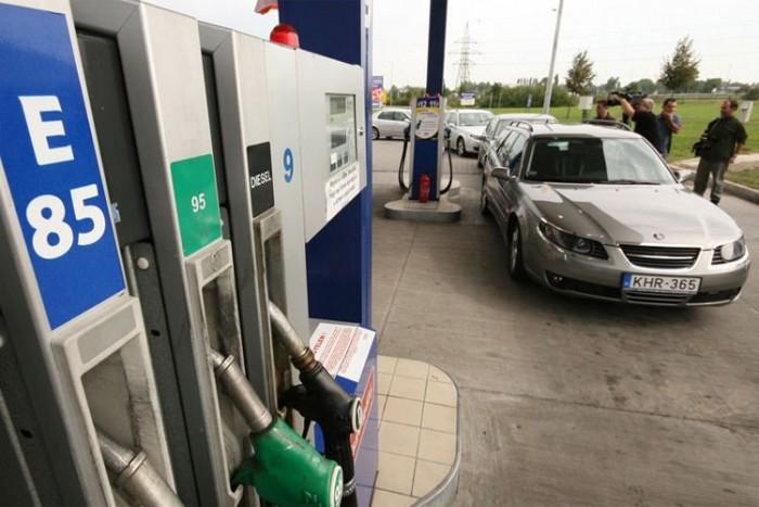 E85-tel és autógázzal is jóval csekélyebb a környezetszennyezés, mint benzinnel járva