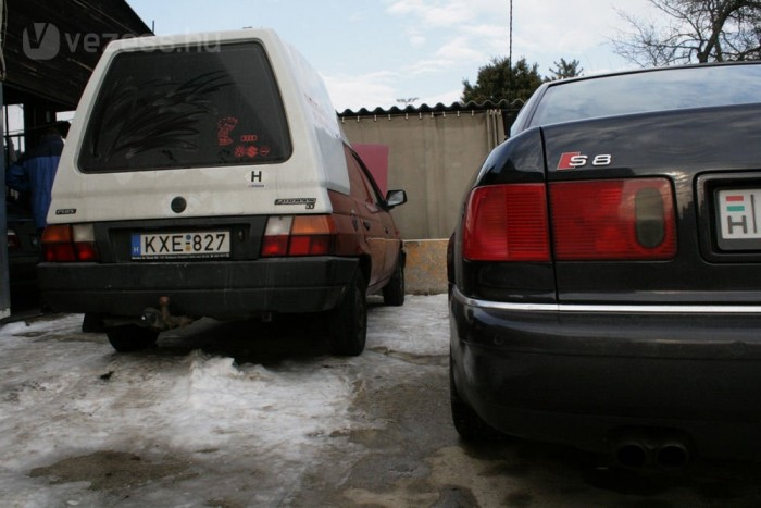 Karburátoros autókból nem egészen 150, a V8-as S8-ból majdnem 400 ezer forintért lesz benzines és LPG vegyes üzemű kocsi