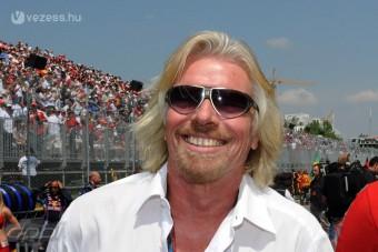 F1: Csúszhat a Virgin-vezér nőnek öltözése