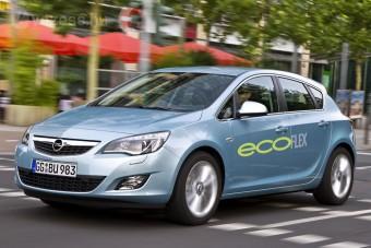 Opel Astra 4 literes fogyasztással