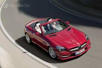Itt az új Mercedes SLK