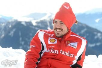 F1: Alonso új sajtóst varázsolt elő