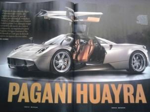 Itt az új Pagani, a Huayra