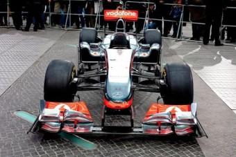 Retrósan modern az új McLaren