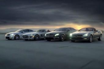 Reklámban debütál két új Mercedes
