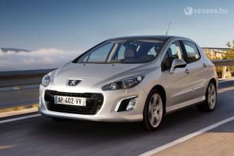 3,8 litert fogyaszt az új Peugeot 308