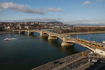 Bomba a Margit hídnál