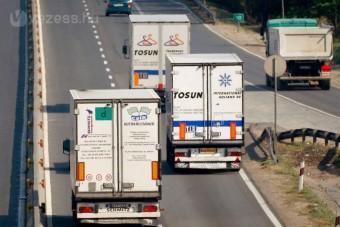 Videó: kamionnal az M1-esen