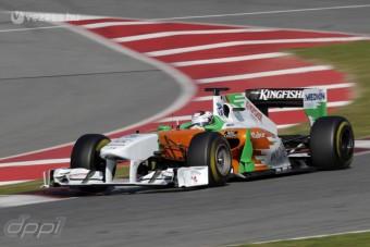 F1: Laudáék gondban vannak a Force Indiával