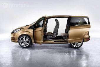 B-oszlop nélkül érkezik a Ford B-Max