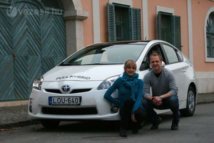 Juhász Norbert egy benzines Mondeóból ült át a Priusba