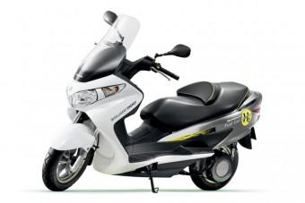 Engedély a Suzuki hidrogén-robogójának