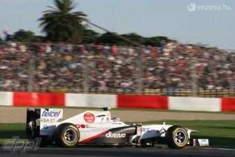 F1: Nem fellebbez a Sauber a kizárás ellen