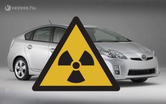 Nincs sugárzó Toyota