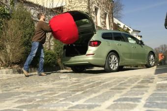 Opel Astra kombi - Bevadult a fater!