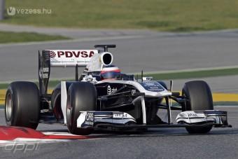 F1: Milliókat bukott a Williams
