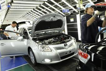 Leállnak az európai Toyota-gyárak