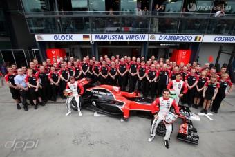 Magyar tesztpilóta a Virgin F1-es csapatnál