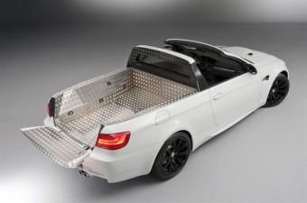 Lehull a lepel a platós BMW-ről!