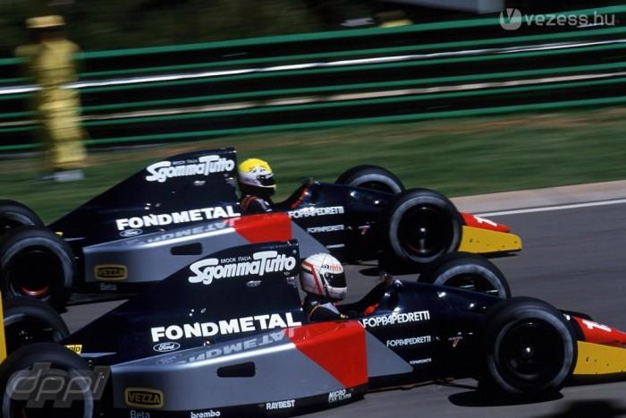 Holtverseny az utolsó helyért, Fondmetal-módra, 1992-ben