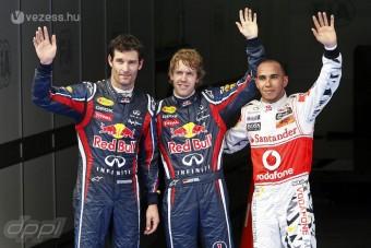 Vettel elkapta a fonalat, Hamilton elégedett