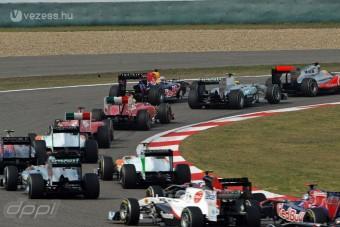 F1: A gumistratégia döntött Kínában