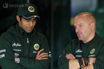 F1: A Lotus pilótát cserélhet Indiára