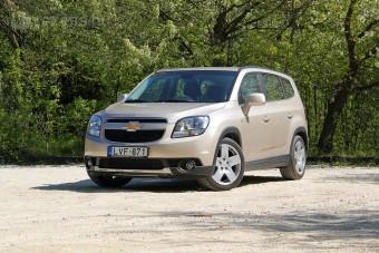 Családi nyuszibusz: Chevrolet Orlando