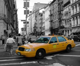 New Yorkból Los Angelesbe taxival!