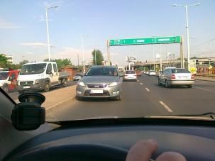 Forgalommal szemben az Üllői úton