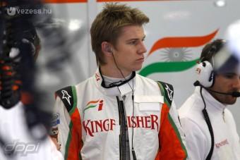 F1: Hülkenberg szakított a sztármenedzserrel