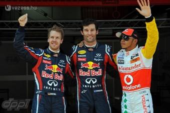 Vettel elismeri, hogy Webber gyorsabb volt