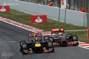 F1: Csak látszólag volt laza Vettel győzelme