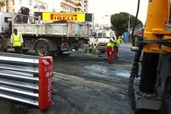 F1: Megsérült a monacói pálya