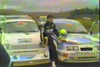 Senna és a raliautó