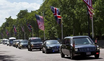 Behajtási díjat számlázott Obamának London