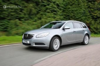 Takarékosabb lett az Opel Insignia