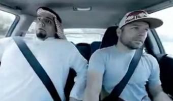 Halálra vált arab a drifttel ismerkedik