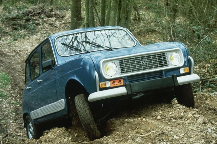 1967 végén szinte terepjáró vált az R4-ből az R4 Sinparral