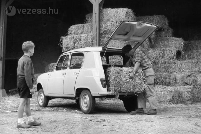Családi autóként mindenre befogták a francia parasztgazdaságok