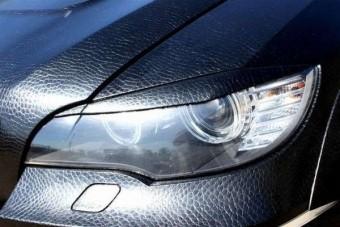 BMW talpig bőrbe húzva