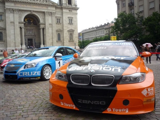 Michelisz Norbert BMW 320 TC-vel indul hétvégén a Hungaroringen