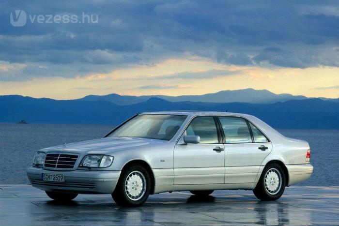 A W140-be dízelmotor is kerülhetett