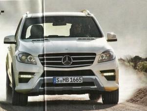 Kiszivárgott az új Mercedes ML