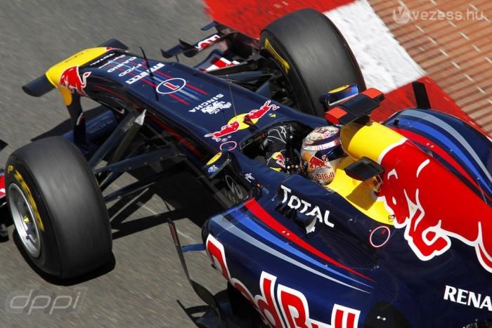 Vettel Monacóban is kihasználta a kipufogógáz-kivezetés előnyeit