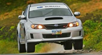Ha egy Subaru kétszáz felett csúszni kezd!