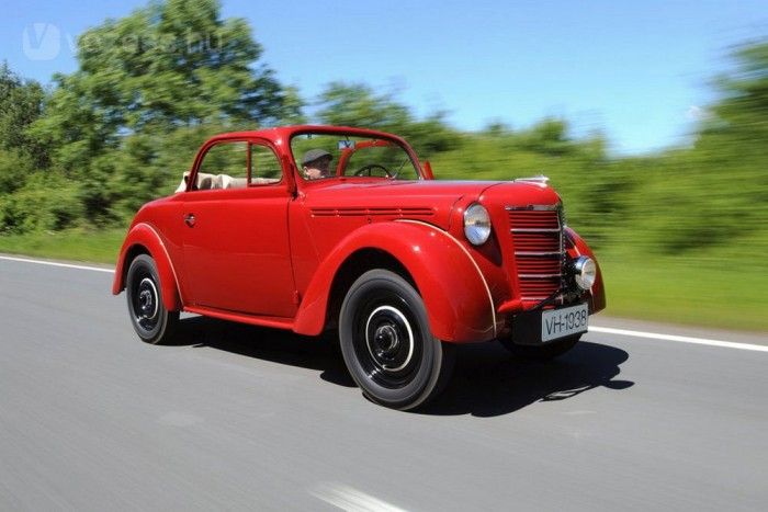Kadett Roadster az legelső szériából